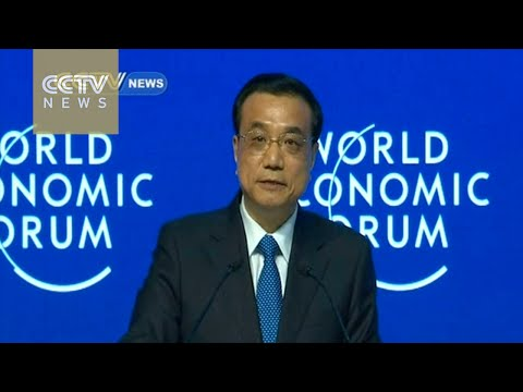 Premier Li 's keynote speech in Davos: China will avoid economic hard landing