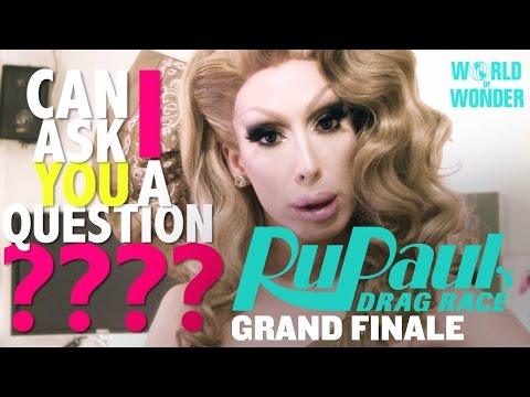 Alaska's Can I Asssk You A Question - RuPaul's Drag Race Season 8 Grand Finale