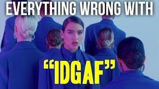 "Download Lagu Everything Wrong With Dua Lipa - ""IDGAF"" Gratis STAFABAND"