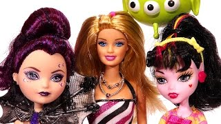 Barbie, Draculaura ve Raven Queen