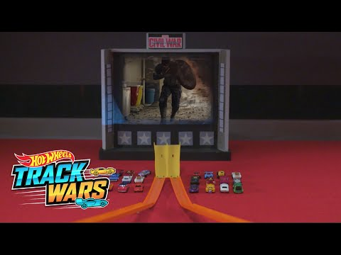 Special Edition:  Captain America:  Civil War | Track Wars | Hot Wheels