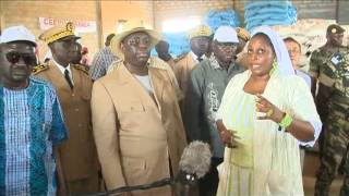 Visite du Président Macky Sall dans la vallée fleuve Sénégal