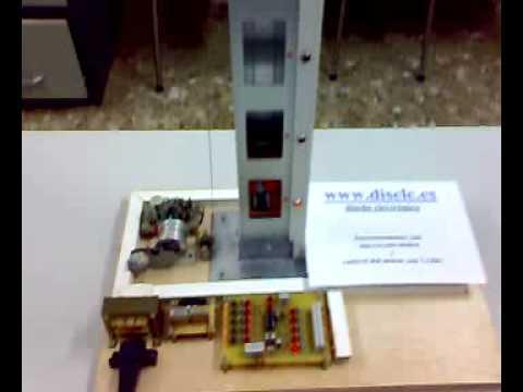 Proyecto con maqueta de un ascensor de 5 plantas for Materiales para hacer un ascensor