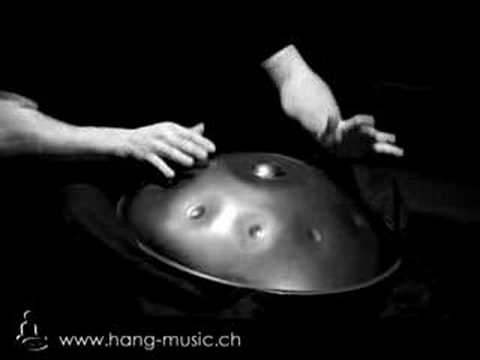 Hang solo concert by Severin Berz