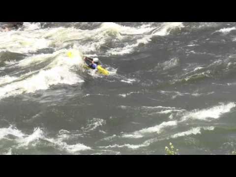 Kayak Kick Flip Demonstration