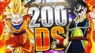 DBZ DOKKAN BATTLE - DUEL INVOCATION GOKU SSJ3 ANGE ET BARDOCK TIME BREAKER