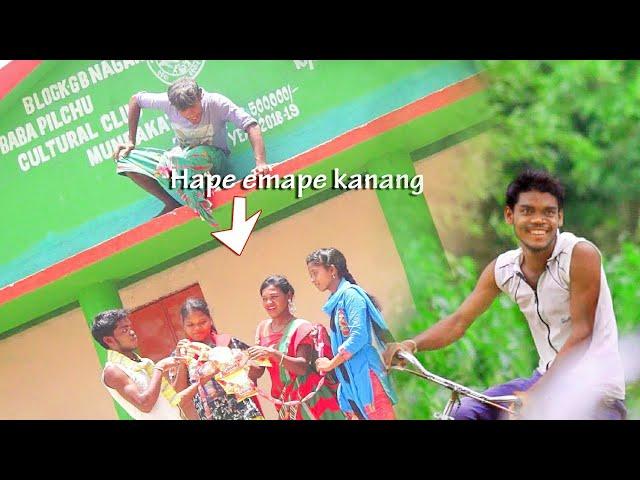 New santali comedy video madua hoon, santhali hits comedy thumbnail