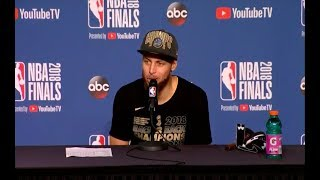 Steph Curry | Game 4 NBA Finals Press Conference