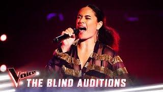 The Blinds: Akina Maria sings 'Dangerous Woman'  | The Voice Australia Season 8