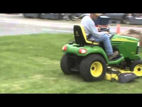 John Deere 4x4 Garden Tractors