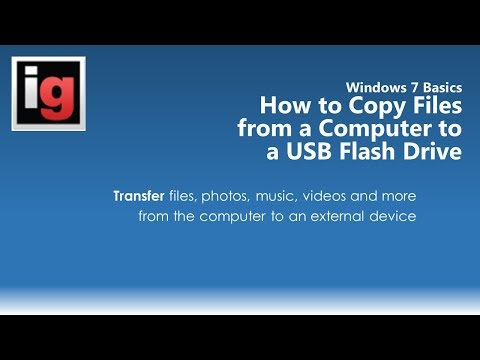 How to Copy or Transfer Files from a USB Flash Drive to a Computer