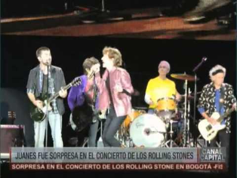Juanes Fue Sorpresa En El Concierto De Los Rolling Stones
