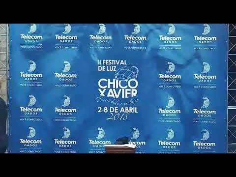 Em abril acontecerá o Festival da Luz Chico Xavier em Pedro Leopoldo e a Telecom Dados