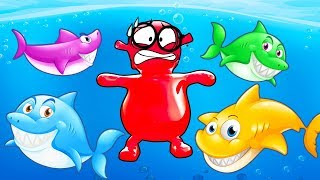 BABY SHARK - Sing and Dance with Popular Kids Songs and Nursery Rhymes | Animal Songs