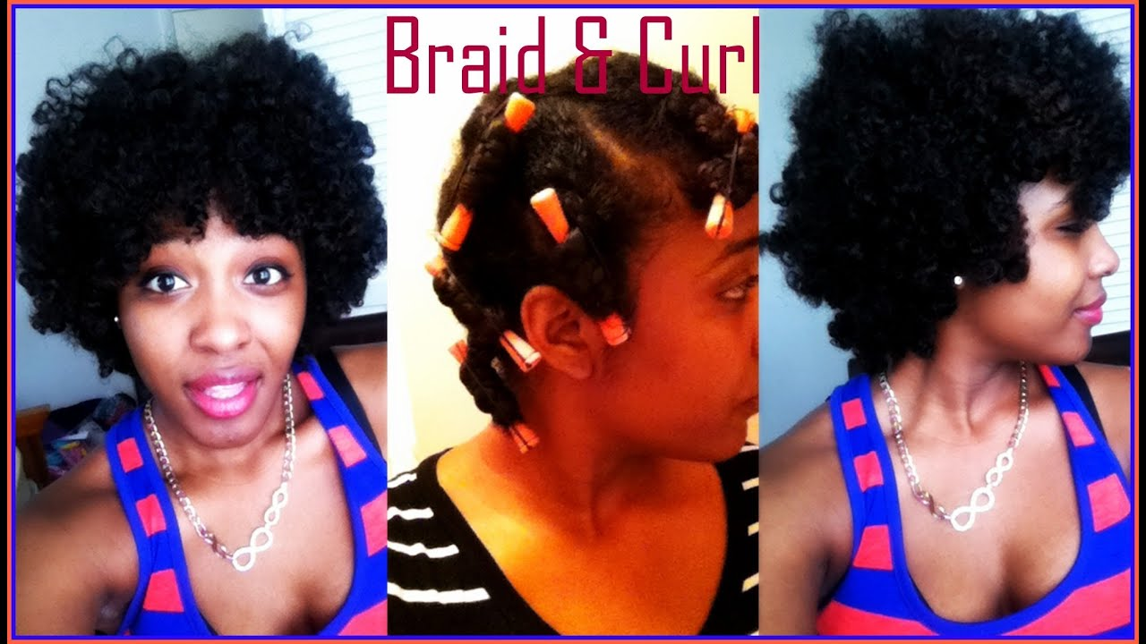 Braid Amp Curl Results Using Perm Rods Cantu Argan Oil