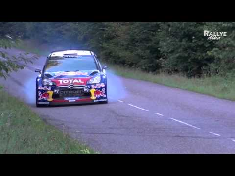 Tests Days Sébastien LOEB / Daniel ELENA Citroën DS3 WRC [HD] Rallye-Addict.com