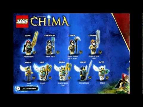 LEGO Legeneds Of Chima Minifgure Poster
