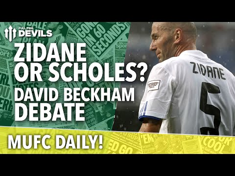 David Beckham Debate | MUFC Daily | Manchester United