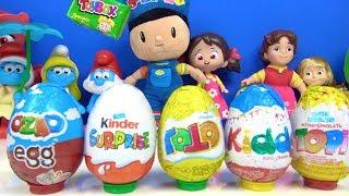 Pepee Niloya Heidi Maşa ile Koca Ayı Pijamaskeliler ile Toybox Ozmo Kinder sürpriz yumurta açıyoruz