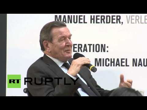 Germany: Schroeder expected US to spy on him, but not Merkel