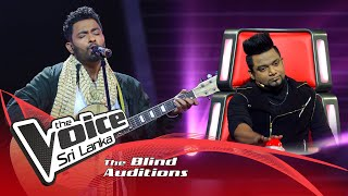 Prashan Lakshan - Mal warusawe  Blind Auditions | The Voice Sri Lanka
