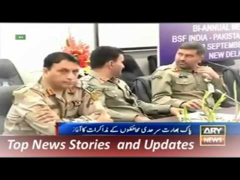 11 September 2015 ARY News Headlines Geo Pakistan Any Talks with India will include Kashmir Issu