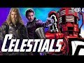 Thor VS Celestials & Odin in The Eternals - Phase 4 & Guardians of the Galaxy 3