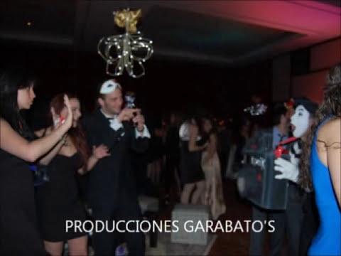 Fiesta Tematica, Carnaval, Circo, Zanqueros, Mimos, Performance