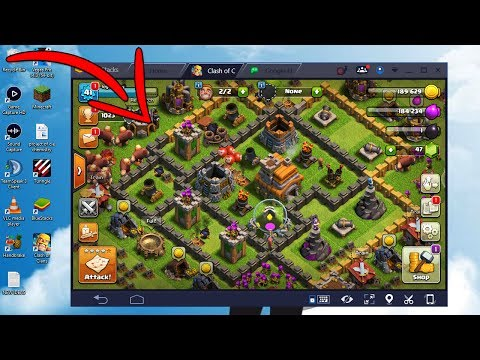 HOW TO DOWNLOAD/PLAY Clash Of Clans ON PC/LAPTOP ONLINE (WINDOWS 10/8.1/7)