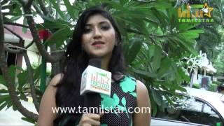Shruthi Nandeesh At FB Statushae Podu Chat Pannu Team Interview