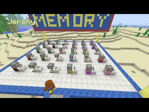 Things to do in Minecraft - The Memory Game