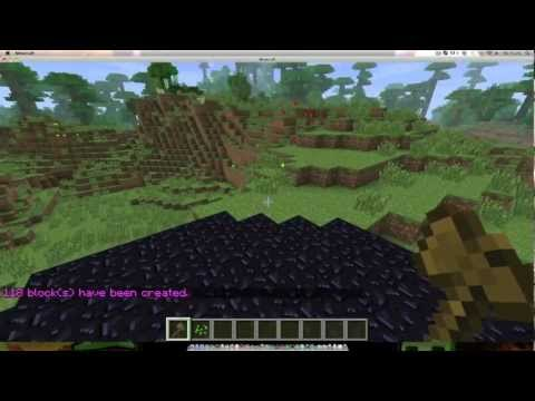 Minecraft Simple World Guard & World Edit Tutorial [HD]