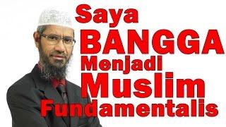 Saya Bangga Menjadi Muslim Fundamentalis - Dr Zakir Naik Malay Subtitle