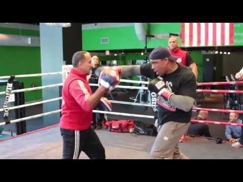 NEW!! Odlanier Solis, Vitor Belfort, and Grigory Drozd Training with Pedro Diaz