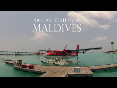 Photoshooting On Maldives
