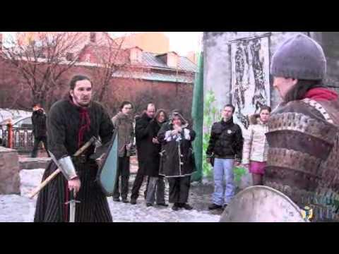 Бой на мечах в поддержку Зимина