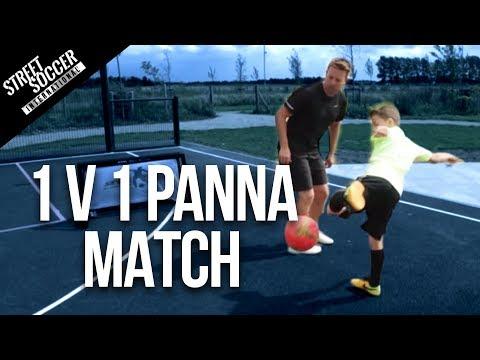 Epic 1v1 Skills & Panna Game Challenge! STR vs Leo