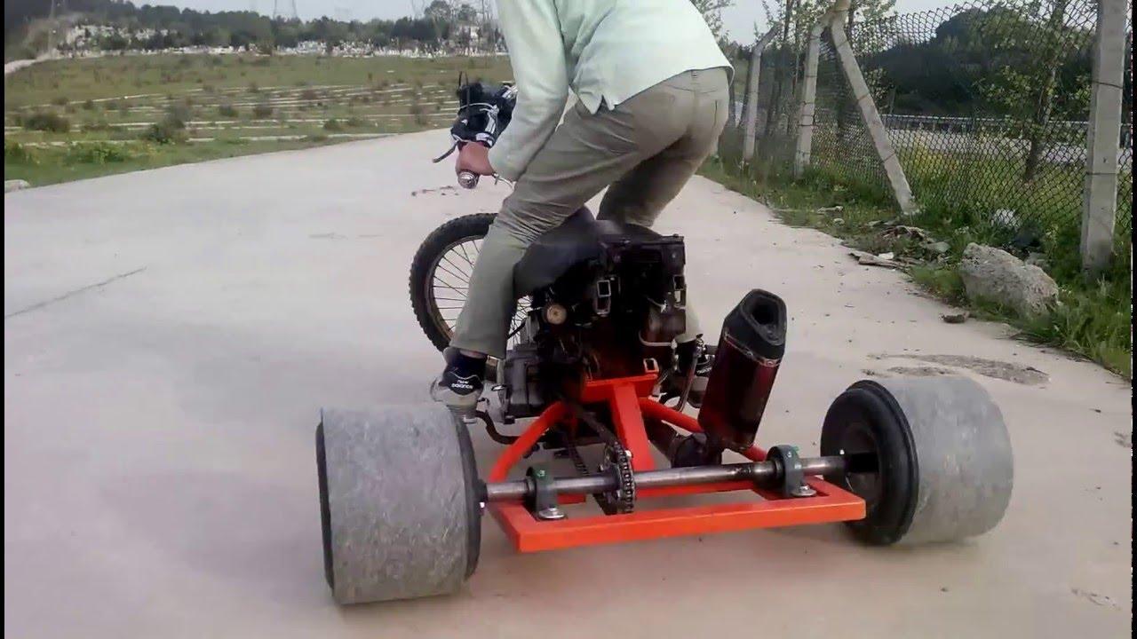 Drift trike с мотором своими руками 52