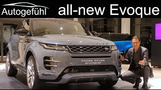 All-new Range Rover Evoque REVIEW Exterior Interior 2019 2020 - Autogefühl
