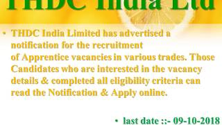 JOB HUNT ::- Notifications from UPSC , THDC ,Chennai Petroleum Corporation Limited (CPCL)