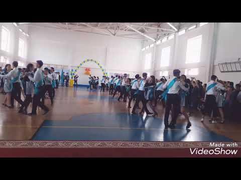 Флэшмоб 2018 последний звонок. 72 школа
