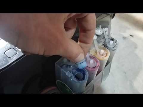 Canon MP495 Принтер не печатает или печатает с полосами Самостоятельное обслуживание и ремонт