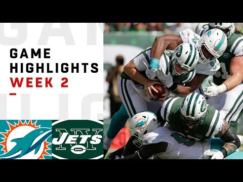 Dolphins vs. Jets Week 2 Highlights | NFL 2018