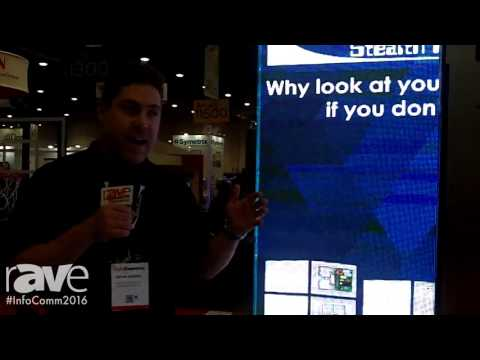 InfoComm 2016: Dimensional Communications, INC. Shows Off DDS Modular LED Screen Cabinets