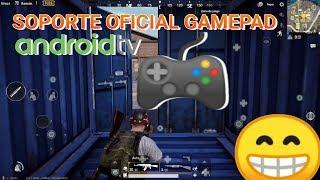 1er. Gameplay PUBG MOBILE con GAMEPAD autorizado en ANDROID - NVIDIA SHIELD TV