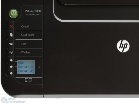 Reset Hp deskjet 3050 to default factory setting