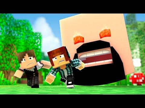 Minecraft: CRIEI UM MONSTRO GIGANTE !! ( Pequenos Gigantes #11)