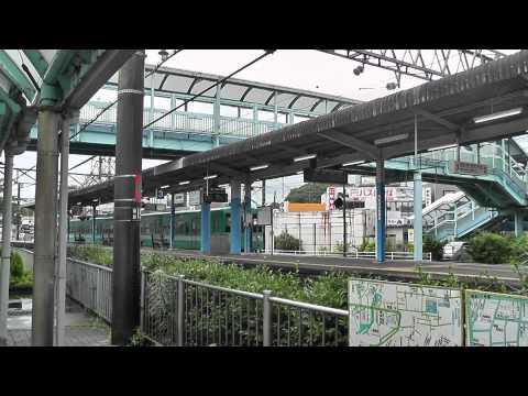 紀伊勝浦駅 普通電車入線