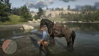 Learning RDR2 horse controls howto