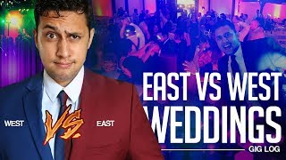 DJ GIG LOG: East Coast vs West Coast Weddings | My First California Wedding | Destination Wedding DJ